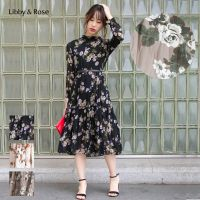 Libby&Rose リビーアンドローズ | 花柄ティアードワンピース