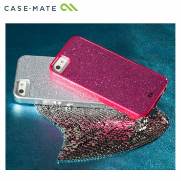 """iPhone SE/5s/5 対応ケース Barely There Case """"Glimmer"""", Violet"""