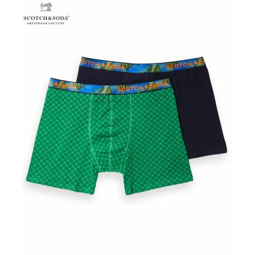 2-Pack Patterned Boxer Shorts (2ペア1セット) / コンボB [292-19909-I]
