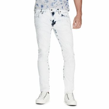 [GUESS] DESTROYED SKINNY DENIM PANT