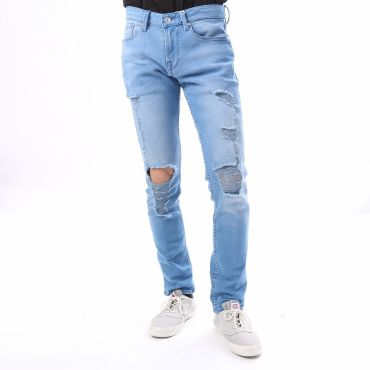 [GUESS] SLIM TAPERED DENIM PANT