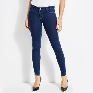 [GUESS] WARM TOUCH CURVE X SKINNY DENIM PANT